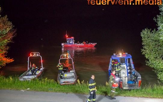 Person erfolgreich aus der Donau gerettet