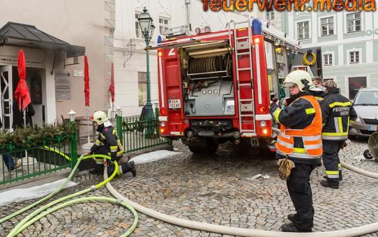 Küchenbrand in Steiner Restaurant