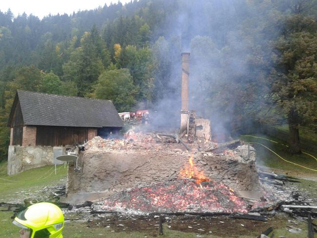 Wohnhausbrand In St Pankrazen Und Vu In Friesach Wörth