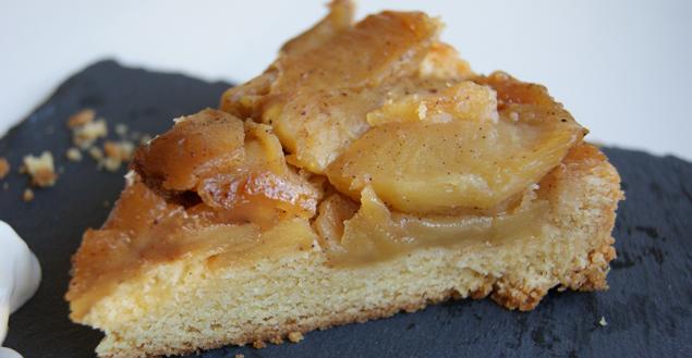 Tarte tatin, recette de tarte pommes caramélisées et pâte sablée - Feuille de choux