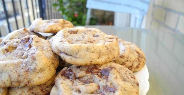 Cookies au chocolat -feuille-de-chou