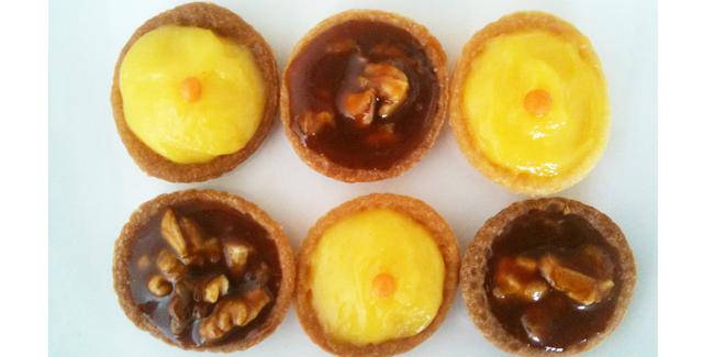 Mini tartelettes d'automne - Feuille de choux