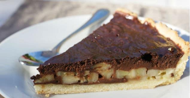 Tarte chocolat banane recette de tarte-Feuille de choux