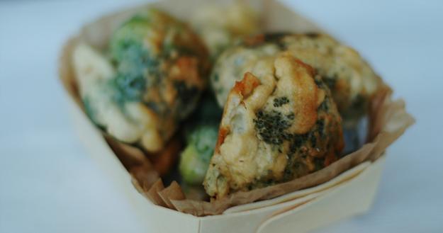 Recette des beignets de brocolis - Feuille de choux