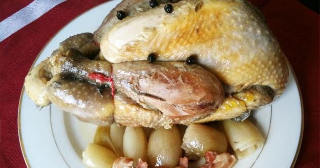 Cuisiner une pintade fermière label rouge - Feuille de choux