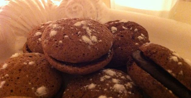 Whoopies chocolat -Feuille de choux