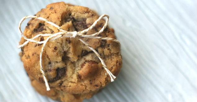 Cookies sans oeuf chocolat et noix de pécan