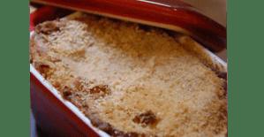 Gratin de boudin noir et pommes - Feuille de choux