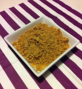 Poudre de pralin - Feuille de choux