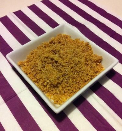 Poudre de praliné maison - Feuille de choux