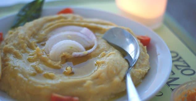 Houmous recette grecque du houmous-Feuille de choux