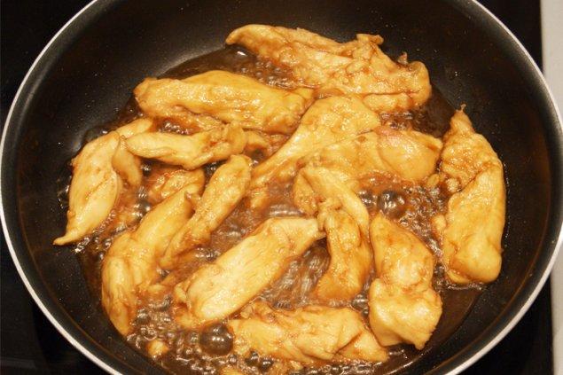 Cuisson poulet Teriyaki recette japonaise - Feuille de choux