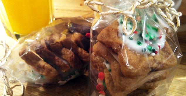 biscuit de noel a la cannelle- Feuille de choux