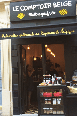 Le comptoir belge Paris - Feuille de choux