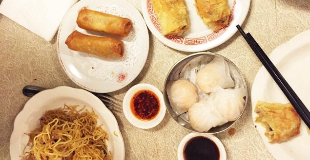 Restaurant dim sum China town New York