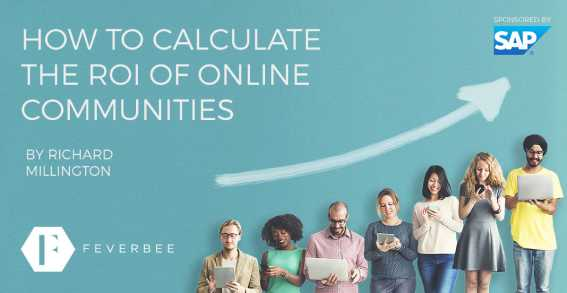 calculate roi of online communities