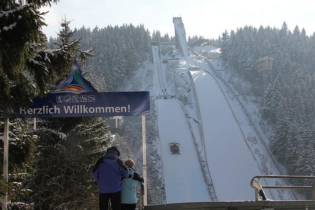 Schanzenanlage im Kanzlersgrund (Tourismus GmbH Oberhof)