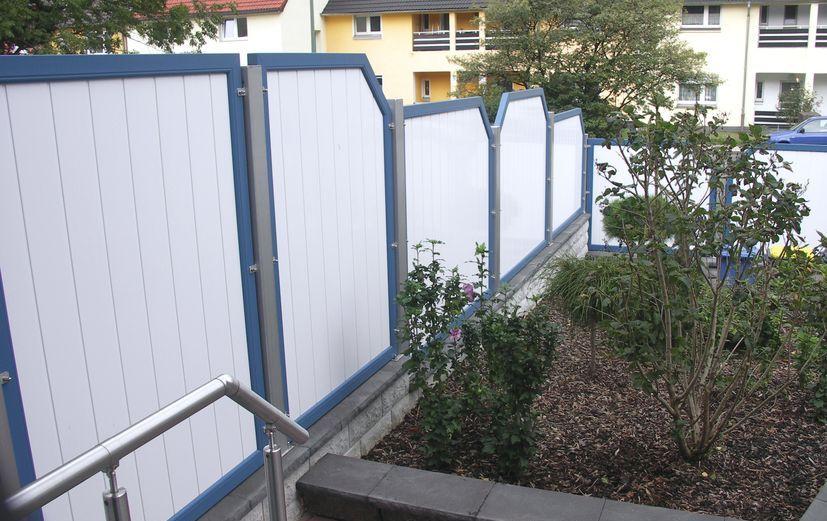 PVC Sichtschutz auf Ma  FEWO Kunststoffbau