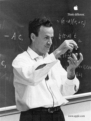 Feynman's second Apple ad