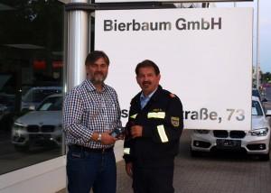 Spendenübergabe BMW Bierbaum