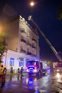 20160504_ Brand in einem Restaurant in Baden