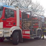 20200304 Fahrzeugbrand in Baden Parkdeck Zentrum Süd