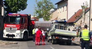 Unfall in der Vöslauerstraße