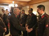 Kommandant Straßl gratuliert zum Eintritt in den Aktivstand