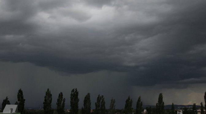 Gewitterwolken vom 24.05.2014