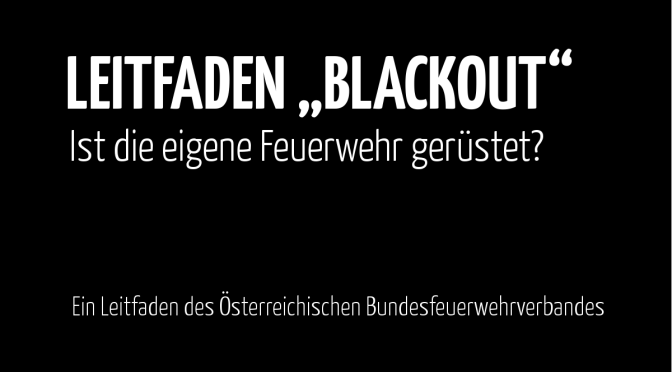 Blackout Leifaden