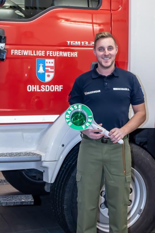 Andreas Windischbauer, Hauptbrandmeister