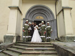 Hochzeit unseres Kameraden Ulfried und seiner Lisa