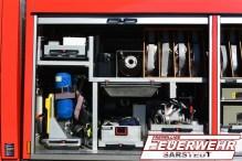 Im Geräteraum 1 sind überwiegend Geräte für die Brandbekämpfung untergebracht.