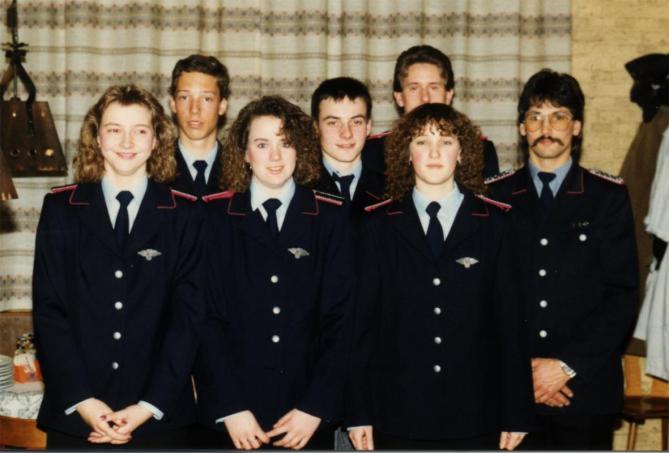 Übernahmen aus der Jugendfeuerwehr 1991