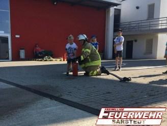 Wie funktioniert ein Feuerlöscher?