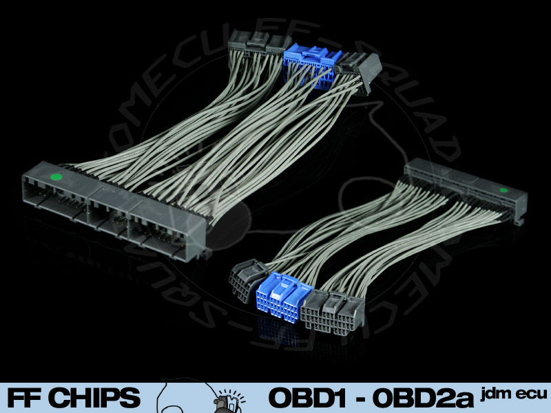 Obd1 Jumper Harness Wires Moreover Honda Obd1 Ecu Pinout Diagram