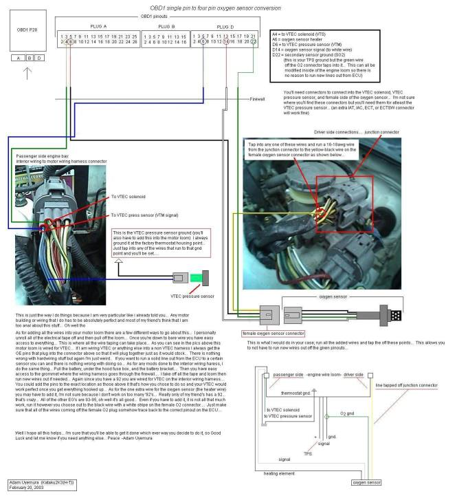 vtec wiring diagram vtec wiring diagram wiring diagram 92 00 honda swap wiring vtec and non tech