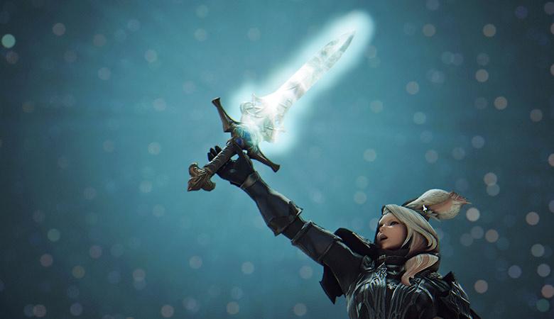 【FF14】プレイヤーには未実裝。聖剣「オウスキーパー」をご紹介! | こころぐ。