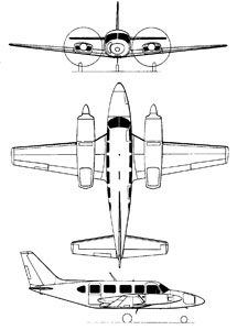 Caractéristiques du PA-31-350 Navajo [in french]