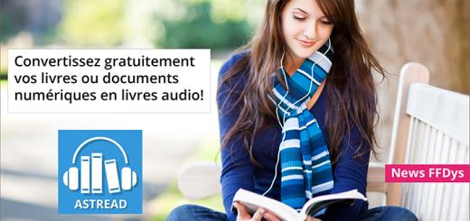 Astread Convertisseur livres audio - Site FFDYS