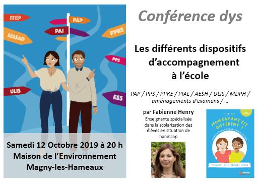 Conference Dys Magny les Hameaux 78