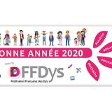 La FFDYS vous souhaite ses meilleurs voeux pour l'année 2020 !