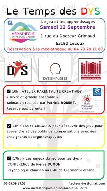 Le Temps des DYS - Lezoux (63)