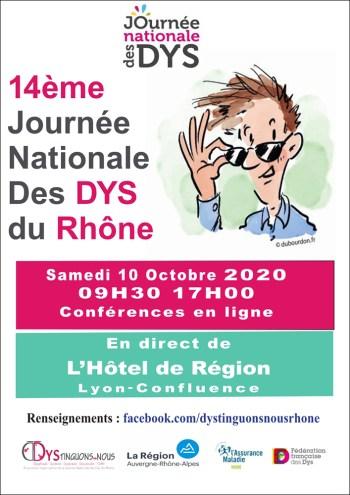 14e Journée des DYS - Rhône
