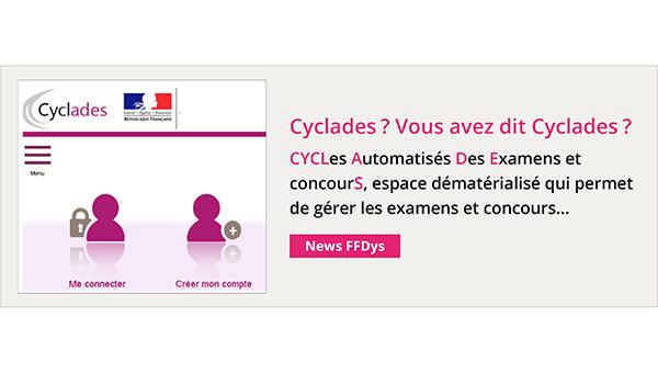 Cyclades ? Vous avez dit Cyclades ? CYCLes Automatisés Des Examens et concourS, espace dématérialisé qui permet de gérer les examens et concours...