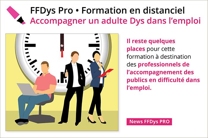 Formation FFDys PRO Accompagner un adulte Dys dans l'emploi - 29 Septembre