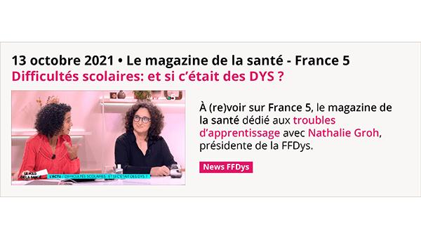 Difficultés scolaires: et si c'était des DYS ? - Le magazine de la santé - France 5