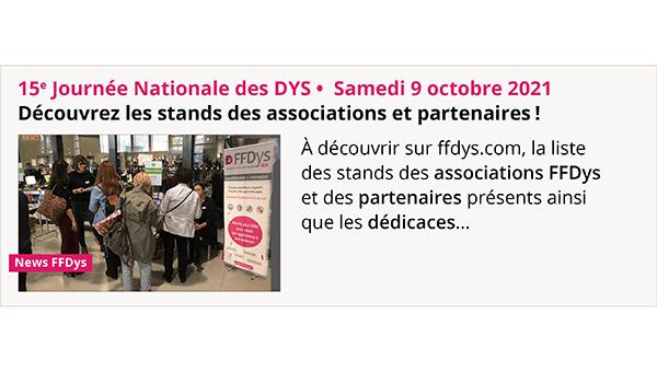 15e Journée Nationale des Dys – Les stands