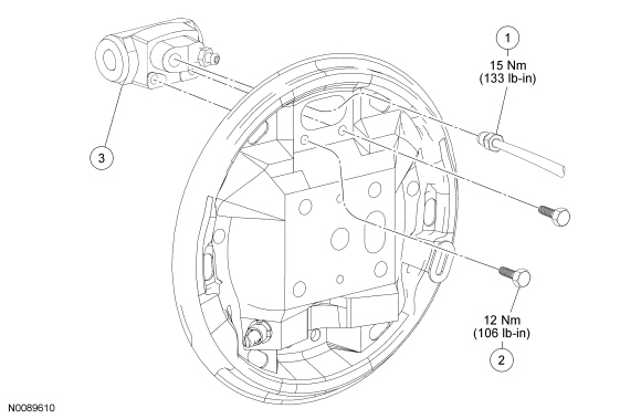 Ford Focus Service Manual :: Wheel Cylinder :: Drum Brakes