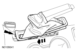 Ford Focus Service Manual :: Parking Brake Cable